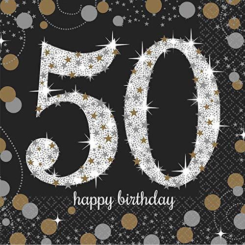 Sparkling Celebration50 Beverage Napkins, Birthday