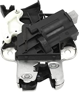 XYXYMY Rear Trunk Lid Lock Latch 4F5827505D FIT for-Eos Jetta MK5 Passat B6 B7 CC (Color : Black)