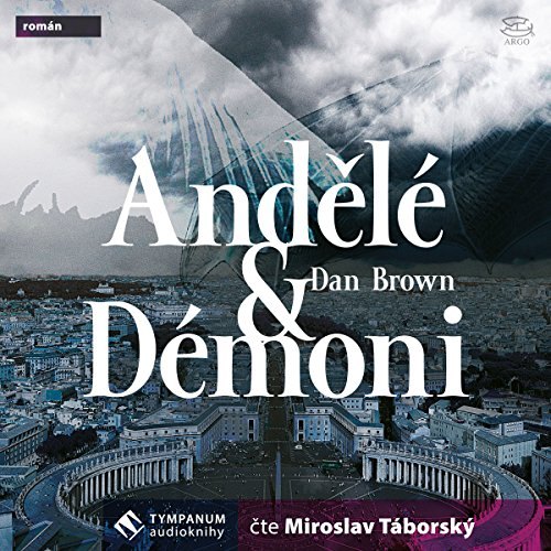 Andělé a démoni audiobook cover art
