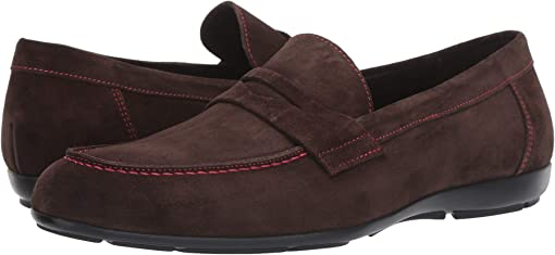 Dark Brown Suede