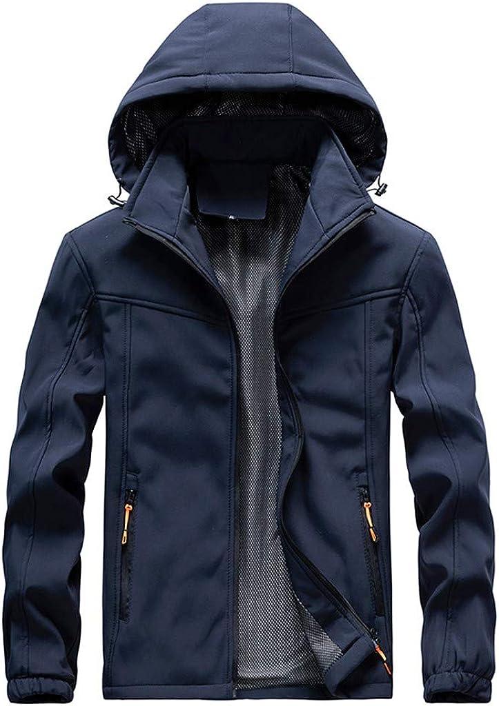 Sport Coats,IHGTZS Mens Autumn Casual Fashion Waterproof Quick-Drying Breathable Sport Outdoor Coat