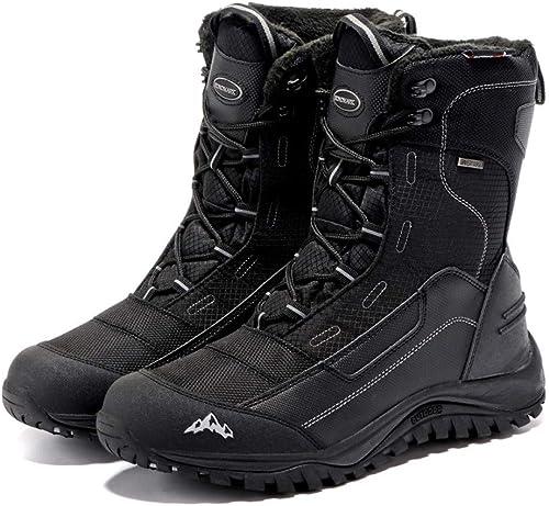 herren Impermeables Calzado Stiefel Stiefel De Nieve De Invierno Piel Transpirable Moda herren schuhe De Invierno 39-45