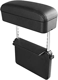 R RUIYA Armrest Box Protector for Universal Auto Car Center Console Armrest Extender General Motors Elbow & Forearm Wrist Rest Support Adjustable Height Comfort Pads (with Black Line)