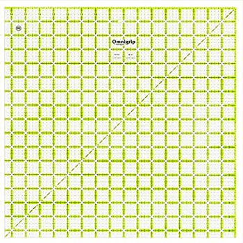 Omnigrid 16.5in Square Quilting Ruler 16-½  x 16-½  Green