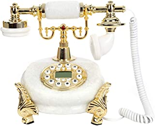 Classic Old-Fashioned Telephone, Retro Antique Landline, Office Home Wired Fixed Telephone Retro Landline
