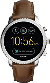 Best fossil q marshal gen 2 touchscreen brown leather smartwatch Reviews
