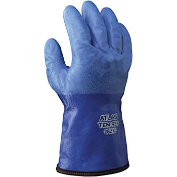 Waterproof//Breathable TEMRES Technology Acrylic Insulation Oil Resistant Rough Textured Coating XL 1 Pair Showa Best 282 Atlas TEMRES Insulated Gloves