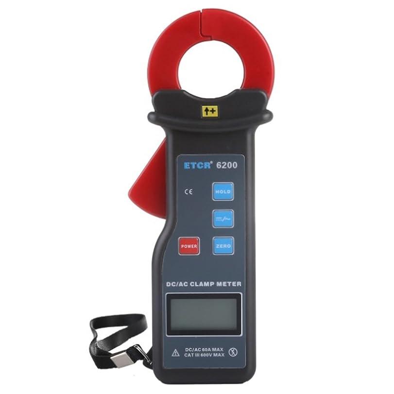 ボウル遷移反映する測定器の精度 クランプ漏れ電流計(車漏れ電流クランプ計)DC/AC電流測定。電流範囲DC/AC 0mA?60.0A、ジョーサイズ25X30mm、RS232インターフェース付きデータアップロード機能データ保存99グループETCR6200