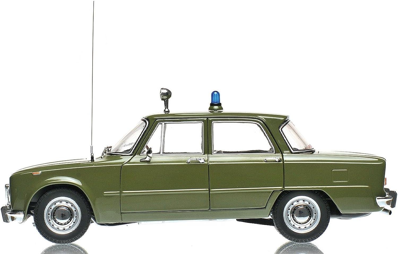 preferente Minichamps Minichamps Minichamps 183120991 - Escala 1 18 - Alfa Romeo Giulia súper 1600Cc Cocheabinieri 1970 verde - Vehículo en Miniatura - Modelo a Escala  increíbles descuentos