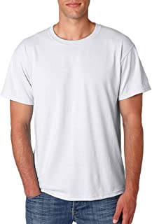 50-50 Short-Sleeve T-Shirt (29M) Available in 28 Colors X-Large White