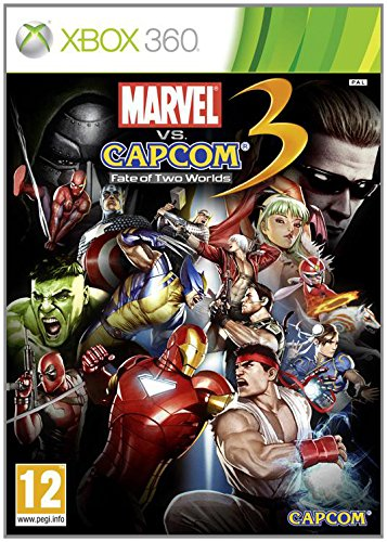 Capcom Marvel vs. 3: Fate of Two Worlds vídeo - Juego (Xbox 360, Lucha, T (Teen))