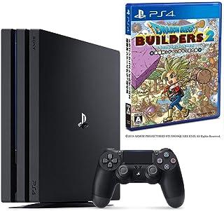 PlayStation 4 Pro ジェット・ブラック 1TB + ドラゴンクエストビルダーズ2 破壊神シドーとからっぽの島 セット CUH-7200BB01