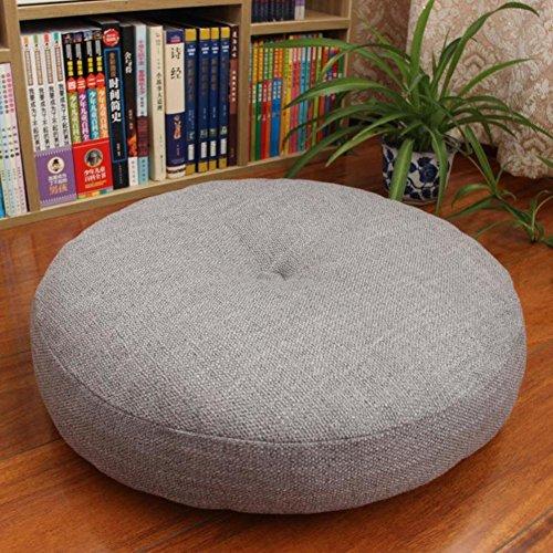 YANNI Verdikt rond groot vloerkussen, linnen tatami vloerkussen zitkussen meditatie mat yogamat