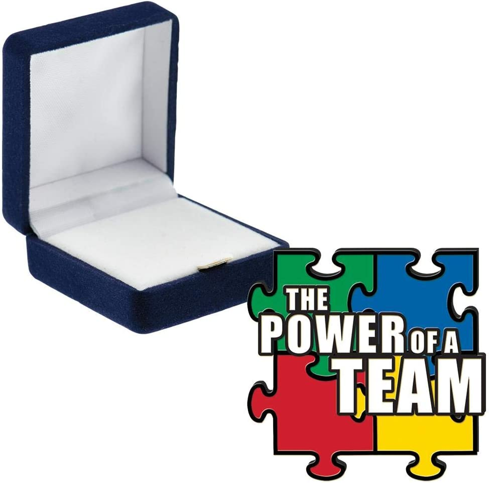 Crown Awards Power of Sales results No. 1 A Wholesale Blue Pin Pins with Team