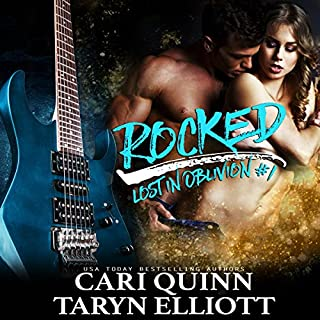 Rocked audiobook cover art