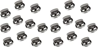 Bianco 300 Pezzi F Fityle Bottoni da Cucire Rotondi 4 mm 2 Fori Accessori DIY per Abiti in Miniatura
