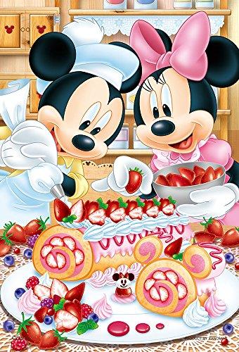 99ピース ジグソーパズル ディズニー ベリーベリー・ロールケーキ 【プチライト】(10x14.7cm)