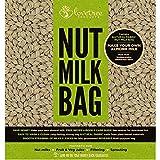 Bio-Baumwoll-Nussmilchbeutel - inkl. gratis Rezept-E-Book - Wiederverwendbarer, extra feiner Premium-Filterbeutel - Jederzeit cremige vegane Milch und samtige Säfte, - LoveTree Products