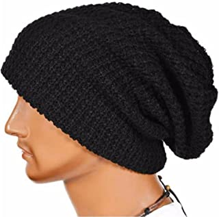 VESNIBA Men Women Warm Winter Knit Ski Beanie Skull Slouchy Cap Hat