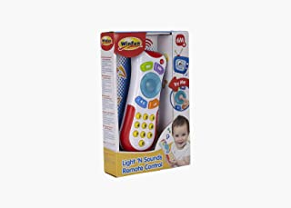 WinFun Remote Control with Lights and Sound for Babies, White (CPA Toy Group 7300723)