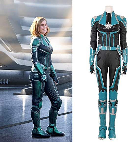 Amazon Com Rubyonly Captain Marvel Cosplay Costume Women Carol Danvers Costume Ms Marvel Cosplay Costume For Women Full Set Custom Made S Home Kitchen Marvel carol danvers cosplay costume. amazon com