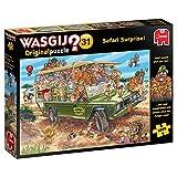 Wasgij Original 31 – Safari Surprise 1000 Piezas Rompecabezas, Multicolor (Jumbo JUM19164)