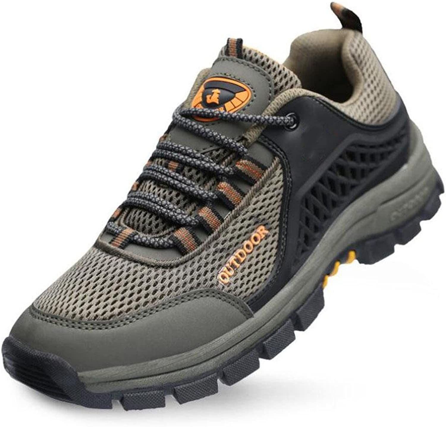Z&HX sportsOutdoor sports shoes breathable net shoes anti - skid walking shoes leisure hiking shoes