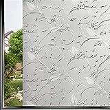 Film Adhésif Pour Fenêtrefilm De Fenêtre De Confidentialité Vitrail Collant Couvertures Décoratives Statiques Autocollants Autocollants Mats-30X100 Cm