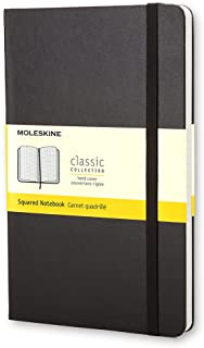 モレスキン ノート クラシック ノートブック ハードカバー 方眼 ラージサイズ ブラック QP061