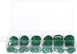 ULTECHNOVO 279 Stks Afdichting Pakking Ring Rubber O Ring Voor Sanitair Kraan Auto-Onderdelen Assortiment Kits Groen