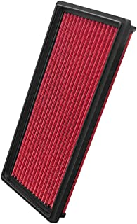 Upgr8 U8701-1202 Hd PRO OEM Replacement High Performance Dry Drop-in Panel Air Filter Red