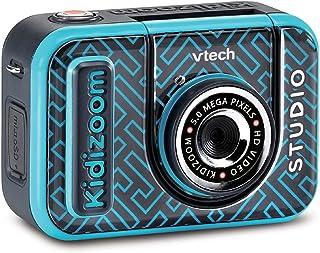 VTech Kidizoom Studio - Kid's Digital Video Camera, Green Screen, Special Effects, Backgrounds - Blue - 531883