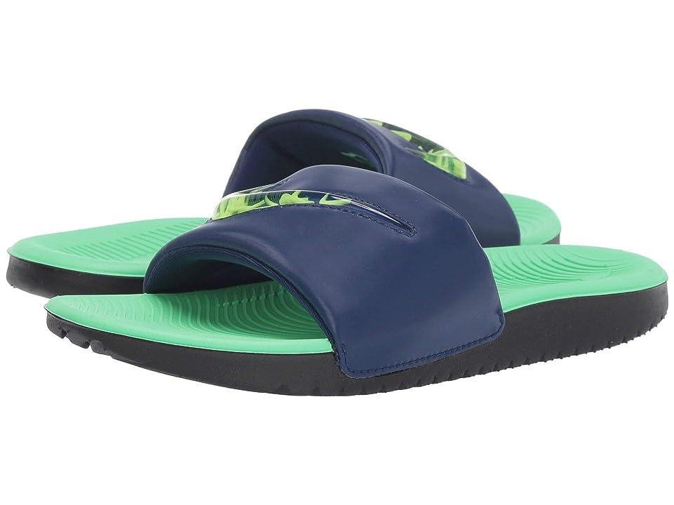Nike Kids Kawa SE (Little Kid/Big Kid) (Blue Void/Racer Blue/Electrio Green/Volt) Kids Shoes