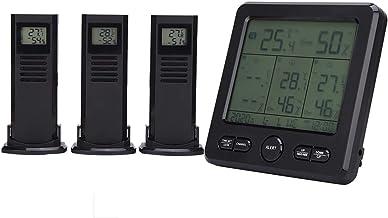 Sensor meteorológico, medidor de temperatura con pantalla ℃ / ℉, estación meteorológica digital, para medición de temperatura Medición de humedad