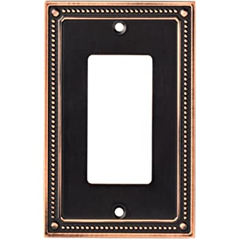 Franklin Brass 126407 Stately Single Decorator Wall Plate Cover Switch Plate Venetian Bronze Liberty Hardware