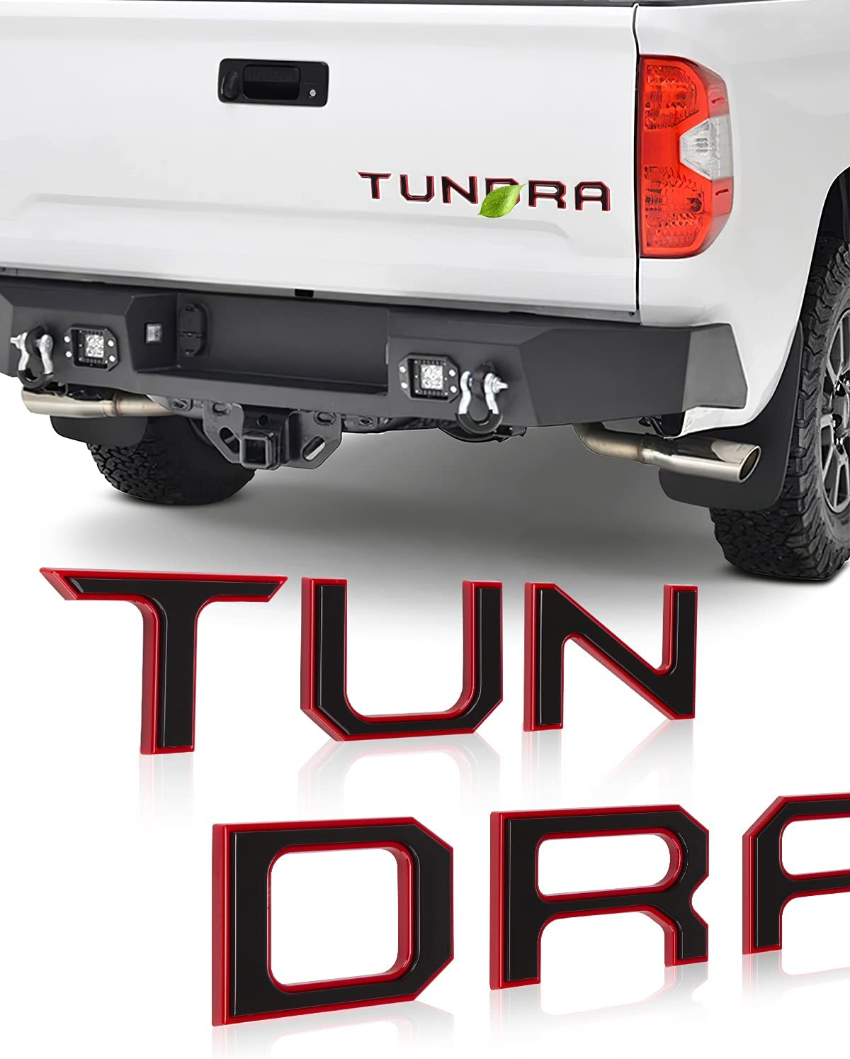 Tailgate Elegant Insert Letters Compatible 2014-2021 Tundra with Challenge the lowest price of Japan ☆ Toyota