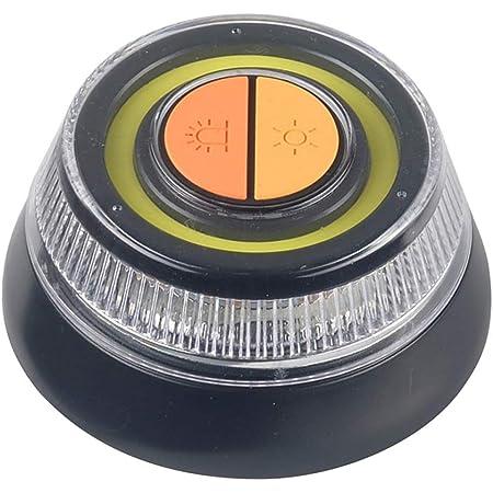 Wonderlamp Luz de emergencia homologada DGT V-16. Luz señalización peligro y linterna