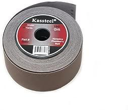 Kassteel  66898 Aluminum Oxide Abrasive Plumber's Roll 180 Grit, 1-1/2