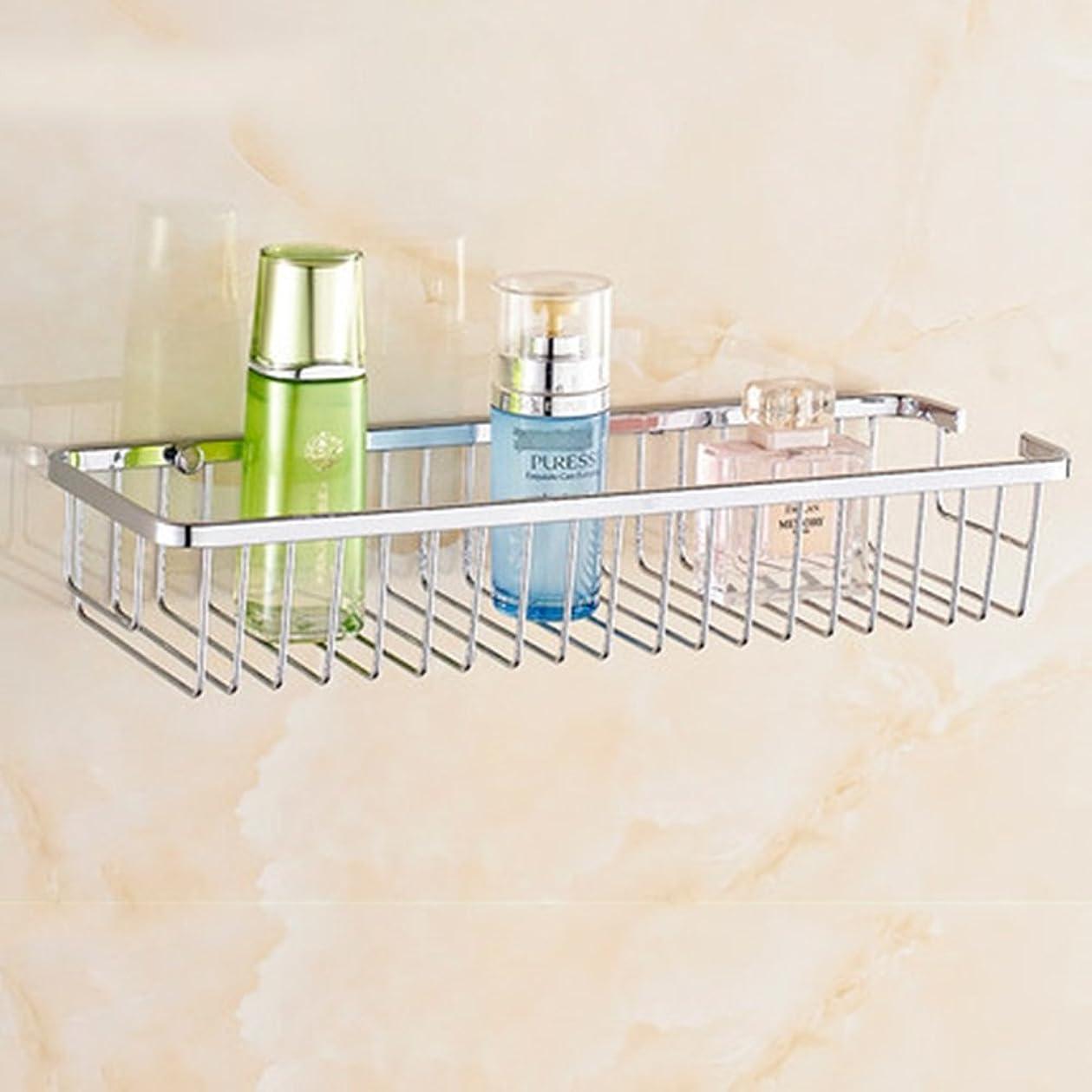 レンジおびえた実験的ZZLX 304ステンレススチールバスルームラックバスルーム棚シングルレイヤーダブルレイヤー四角形バスケット(オプションのサイズ)(オプションのレイヤー) ロングハンドル風呂ブラシ (色 : A, サイズ さいず : 30cm)