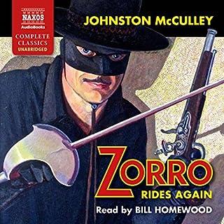 Zorro Rides Again Titelbild