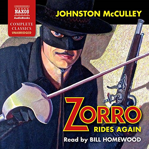 Zorro Rides Again audiobook cover art