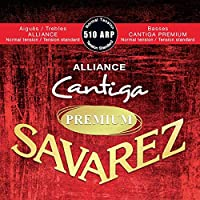 【2セット】SAVAREZ サヴァレス 510 ARP -Normal tension- ALLIANCE/Cantiga PREMIUM アリアンス高音弦 カンティーガ・プレミアム低音弦