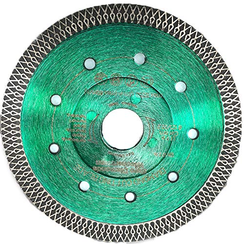 Profi Diamant-Trennscheibe Ceramic Super Ultra von EDW, 115 mm x 22,2mm, Fliesenscheibe/Fliesentrennscheibe, zum schneiden von Fliesen, Feinsteinzeug, Keramik, Naturstein, Granit, Marmor