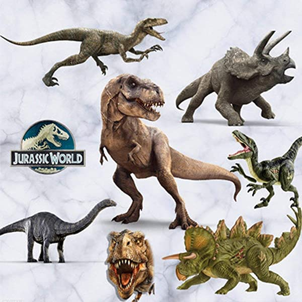 GADFLY Children Kids Baby Nursery S Peal And Stick Wall Decals Stickers Jurassic World Dinosaur