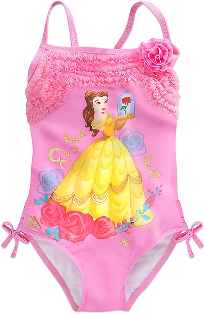 Las Vegas Mall Disney Belle Swimsuit Girls for Latest item Pink