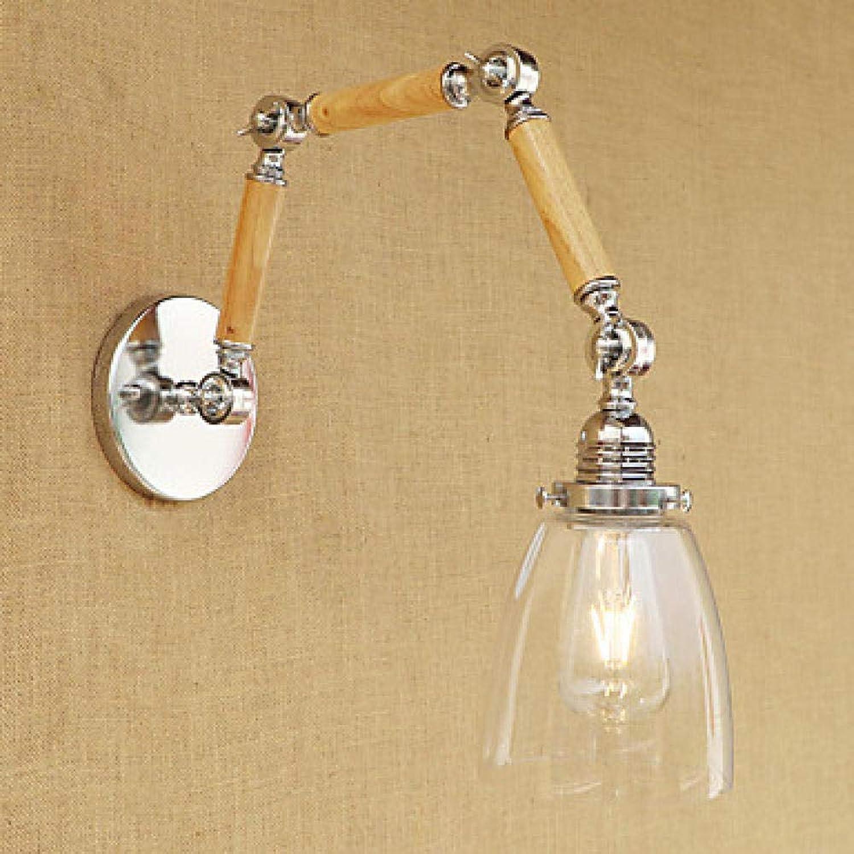 Wandleuchte Country Retro Swing Arm Light Metall Wandleuchte 100-120V60W Lampe