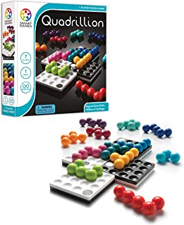 Smart Games Quadrillion-Magnetic Game Grids, Personal Game Board, Fun Brain-Teasing Family Games