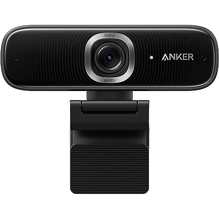 Anker PowerConf C300 ウェブカメラ AI機能搭載 フル HD モーショントラッキング 高速オートフォーカス 1080p ノイズリダクション オートゲインコントロール 画角調整機能 プライバシーカバー Zoom認証
