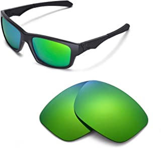 Walleva Replacement Lenses for Oakley Jupiter Squared Sunglasses - Multiple Options