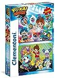 Clementoni–Puzzle 2x 20pièces Yo-Kai Watch